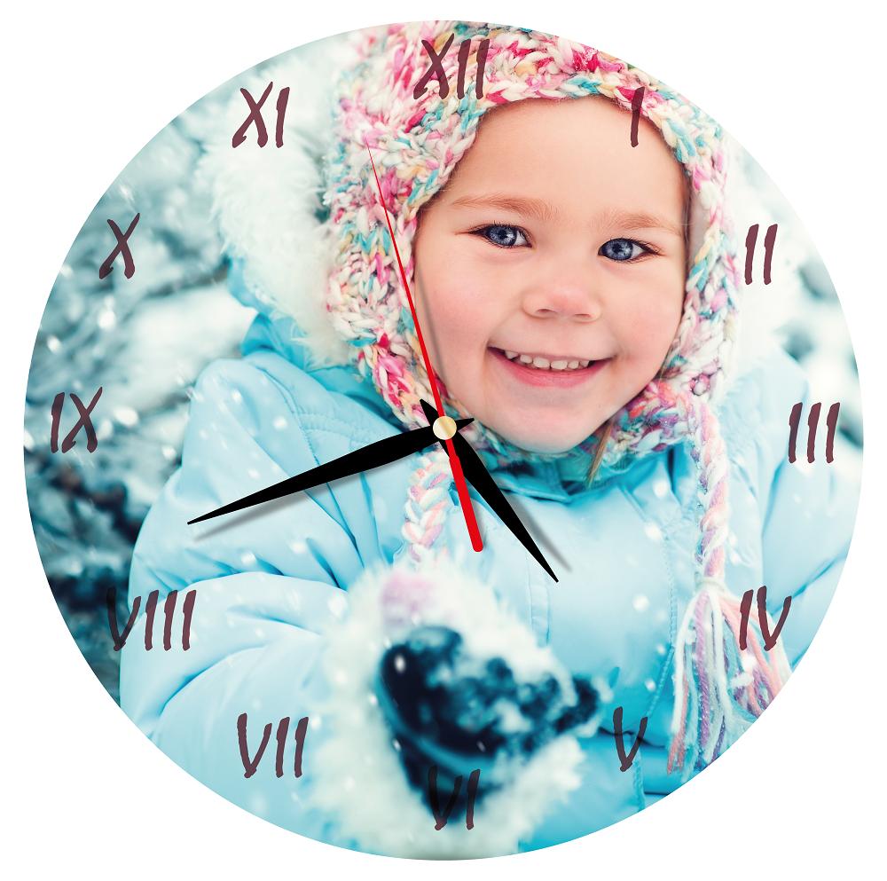 Návod, ako si vytvoriť nástenné hodiny s fotkou