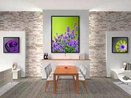 Ako vytvoriť coolový interiér s obrazmi?